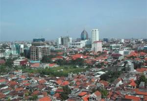 Stadsoverzicht Surabaya