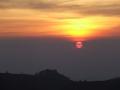 Zonsopkomst Dieng Plateau