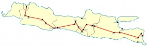Kaart Java Compleet