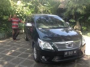 uw chauffeur voor een rondreis op Java