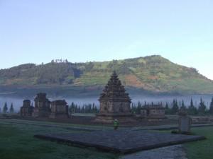 Dieng Plateau - Arjuna tempels