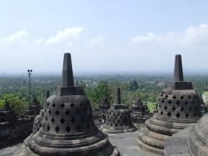 Borobudur - stoepa's