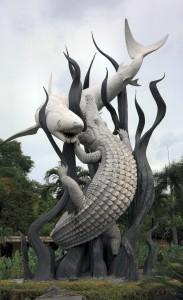 Symbool van Surabaya