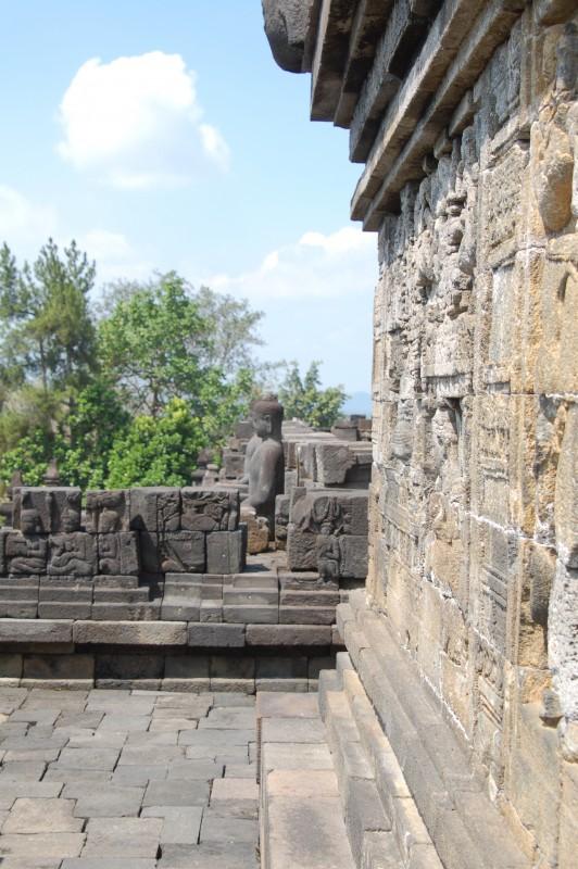 Borobudur reliëfs